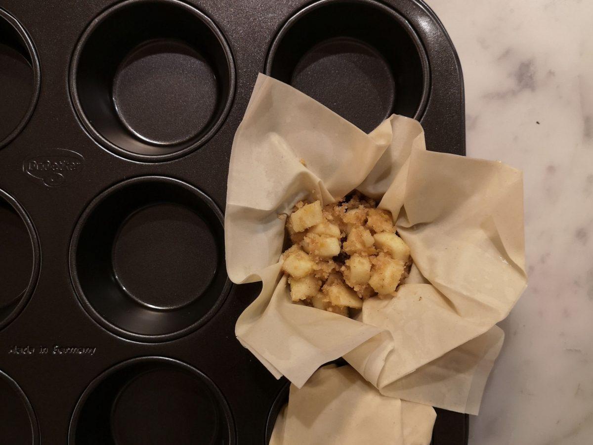 Apfelstrudel-Cupcakes mit Vanille-Obers | Lieblingsspeise | Foodblog | Martina Stasny