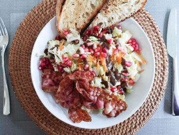 Herbstlicher Salat mit Sesam-Dressing | Lieblingsspeise | Foodblog | Martina Stasny