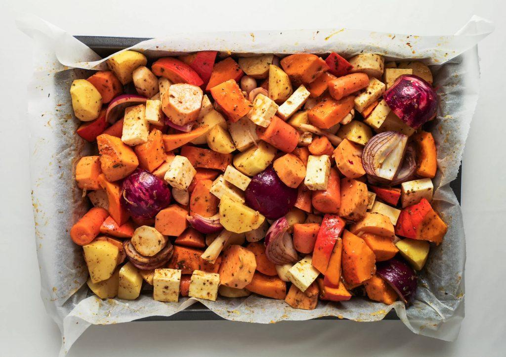Ofengemüse mit Halloumi | Foodblog | Lieblingsspeise.at