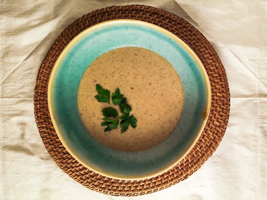 Champignoncremesuppe | Pilzsuppe | Foodblog | Lieblingsspeise