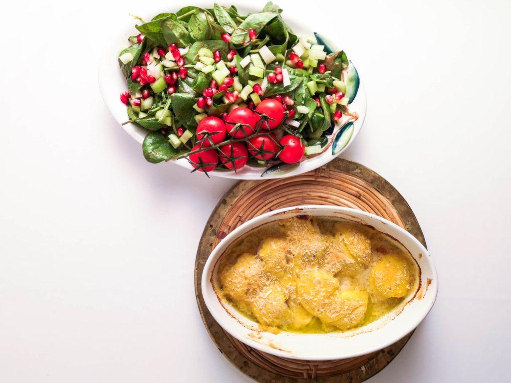 Gratinierte Jakobsmuscheln   Salat   Foodblog   Lieblingsspeise.at