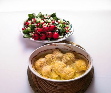 Gratinierte Jakobsmuscheln | Salat | Foodblog | Lieblingsspeise.at