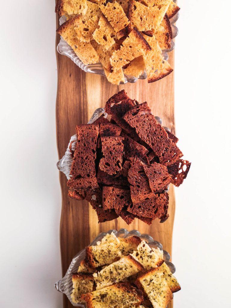 Brotchips | Verwertung von altem Brot | Rezept | Foodblog | Lieblingsspeise.at