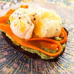 Avocado-Toast mit pochiertem Ei | Rezept | Foodblog | Lieblingsspeise