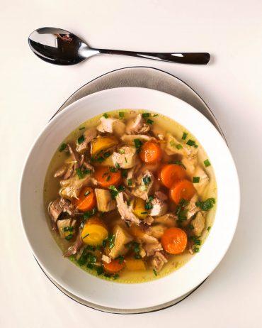 Echte Hühnersuppe   Rezept   Foodblog   Lieblingsspeise.at