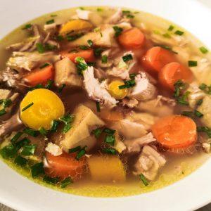 Echte Hühnersuppe | Rezept | Foodblog | Lieblingsspeise.at