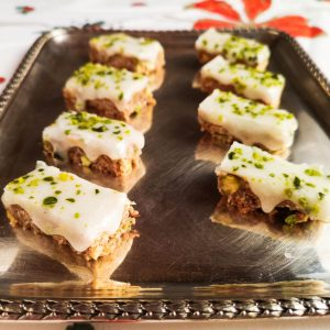 Ingwer-Pistazien-Schnitten   Rezept   Foodblog   Lieblingsspeise.at