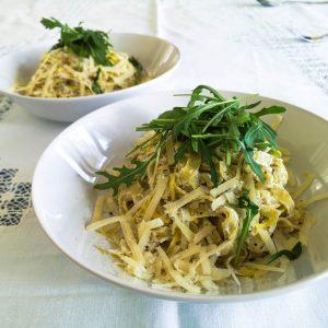 Fettuccine al limone | Rezept | Foodblog | Lieblingsspeise.at
