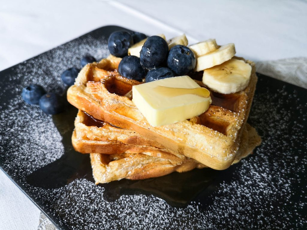 Bananenwaffeln | Rezept | Lieblingsspeise.at